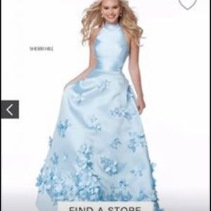 Sherri Hill size 4 prom dress new with tags